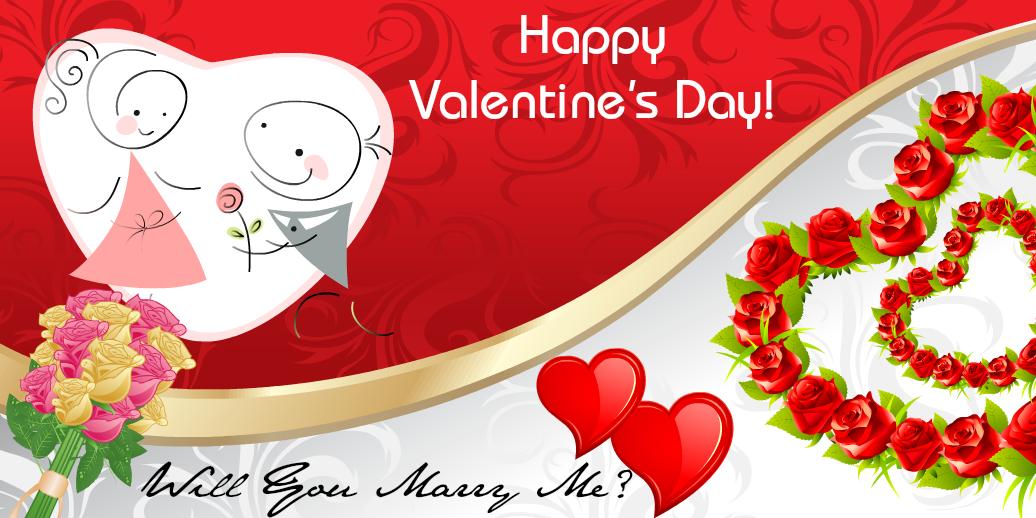express your love to design valentine's day banners online, Ideas