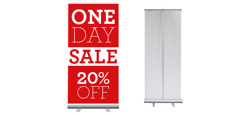Rectractable Banner Stands