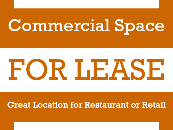 Yard Signs for Commercial Space