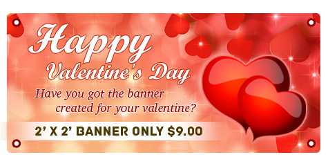How To Create Custom Valentine S Day Banners Online