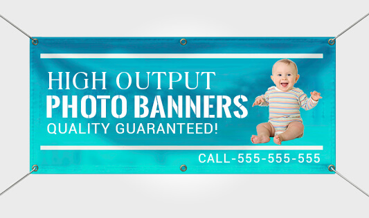 Birthday Photo Banners