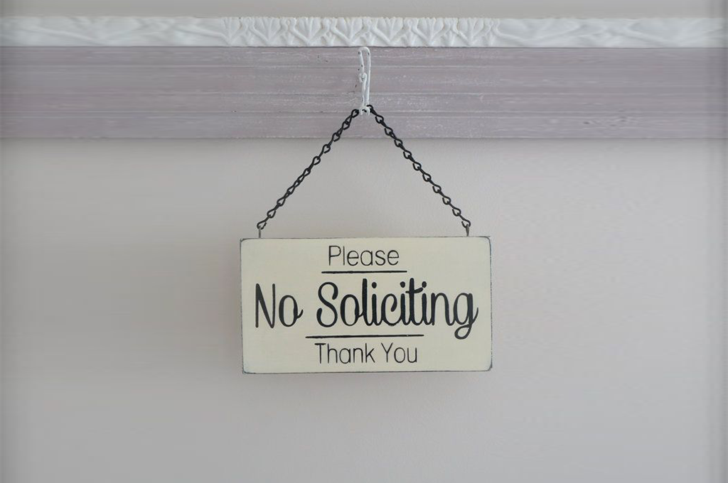 Picture of: A Primer On No Soliciting Signs What Are They Do They Work Best Of Signs Blogs For Banners Printing Tips Services