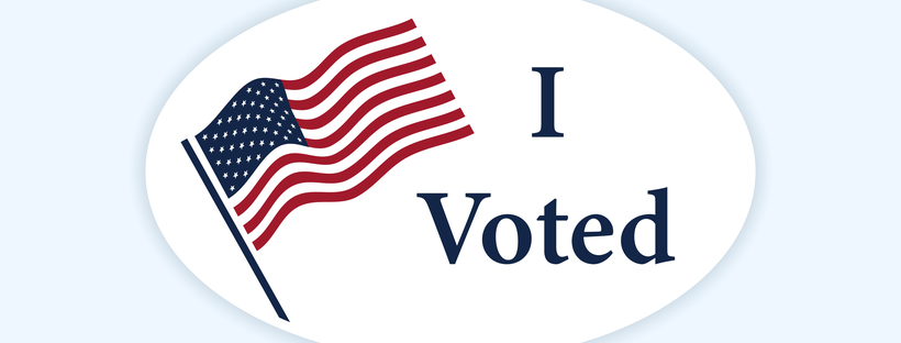 Classic 'I Voted' sticker